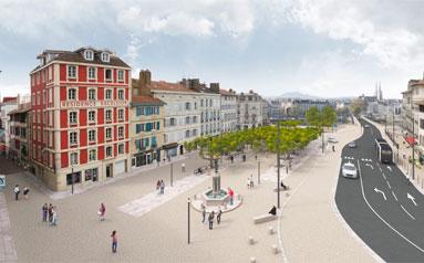 Renovation quartier Ville de Bayonne